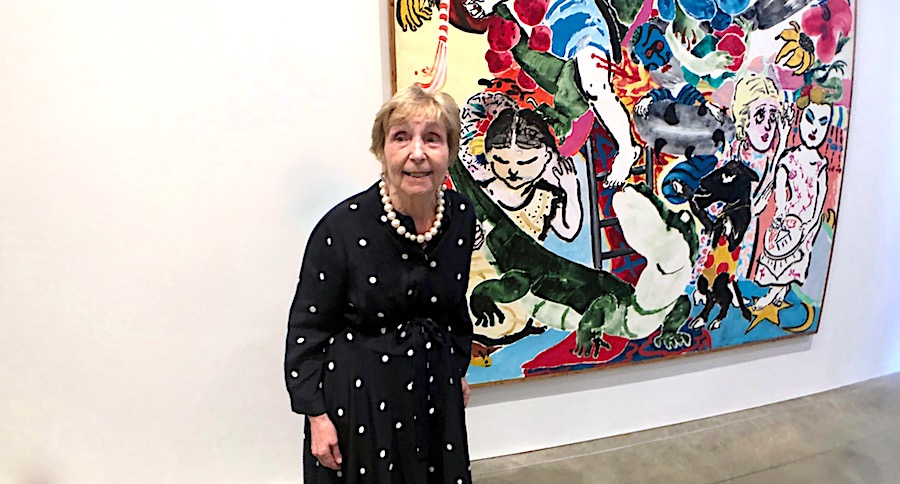 Dame Paula Rego - Artist, retrospective show at MK Gallery