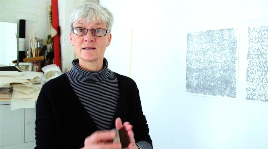 Rebecca Salter RA - Artist and just elected First female President of the Royal Academy of Arts