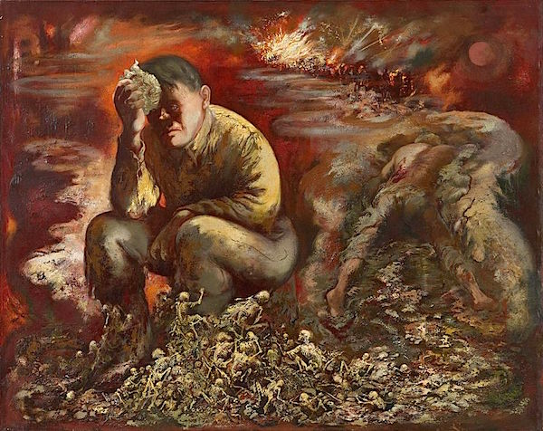George Grosz Cain or Hitler in Hell
