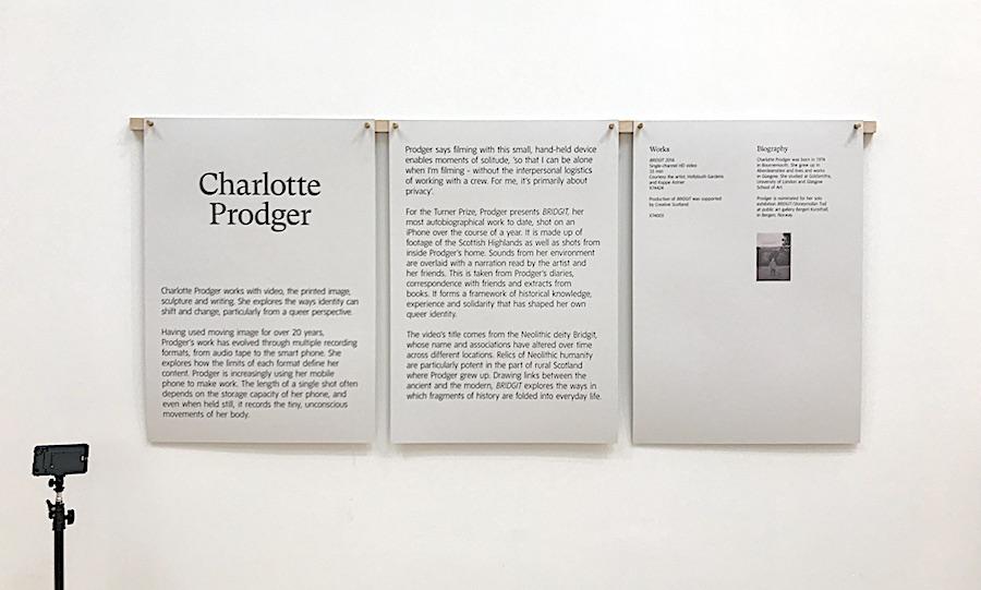 Charlotte Prodger