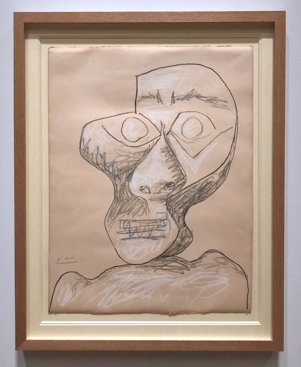 Picasso Self-Portrait 1972
