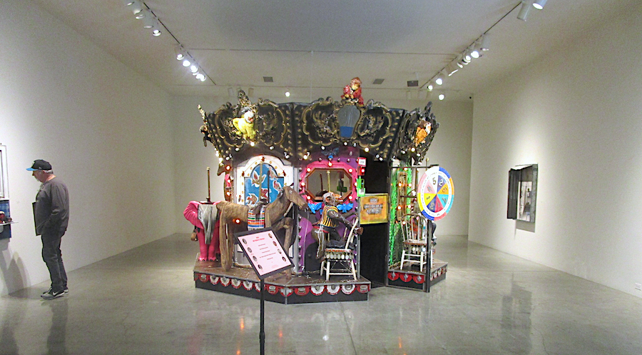 Installation photography / Edward and Nancy Kienholz: The Merry-Go-World or Begat by Chance and the Wonder Horse Trigger