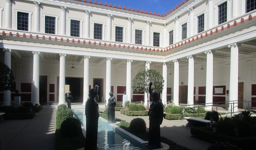 Getty Villa LA