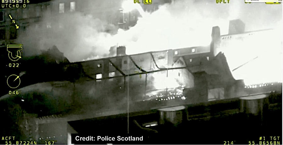 Glasgow School Of Art From Police Report