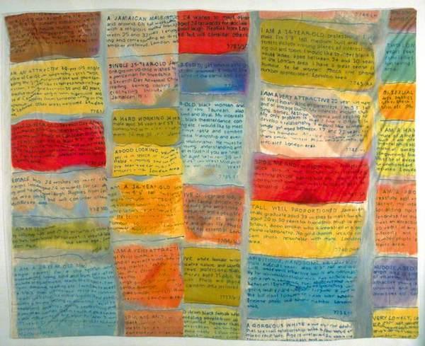 Pillowcase 1990 © Sonia Boyce