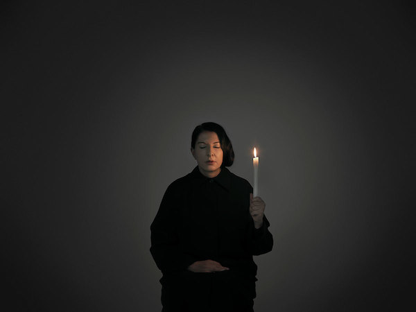 Italy I Love You My Heart Is With You - Marina Abramović