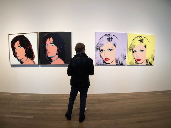 Mick Jagger Debbie Harry By Andy Warhol