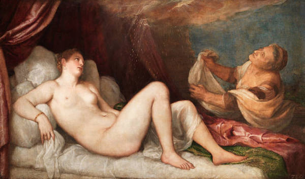 Titian, Danae, probably 1554–6 CREDIT: WELLINGTON COLLECTION, APSLEY HOUSE, LONDON