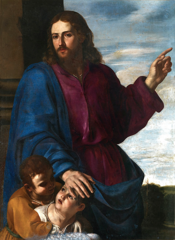 Christ Blessing the Children 1624-1625