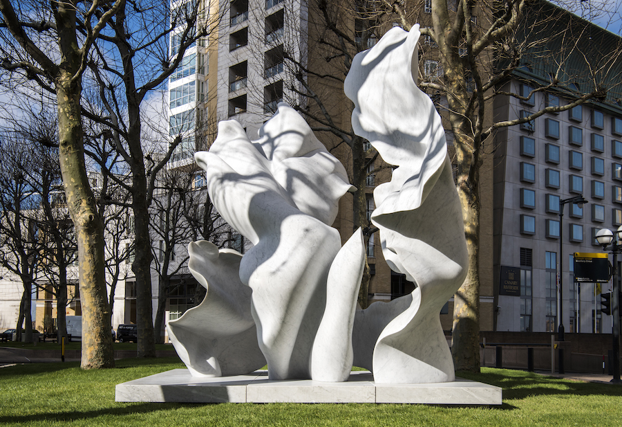 Looking Up: Helaine Blumenfeld at Canary Wharf