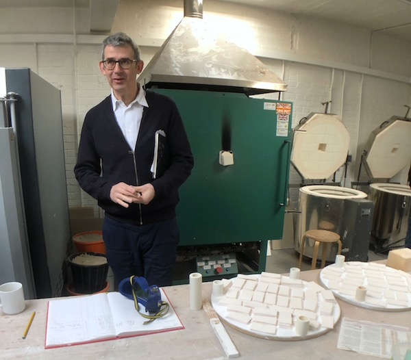 Edmund de Waal Studio ç P C Robinson Artlyst 2020