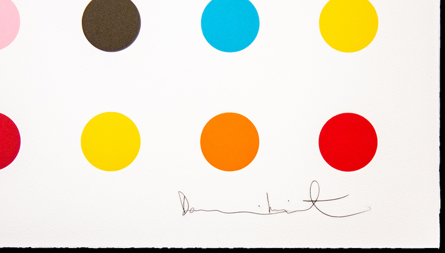 Damien Hirst Spot The Difference