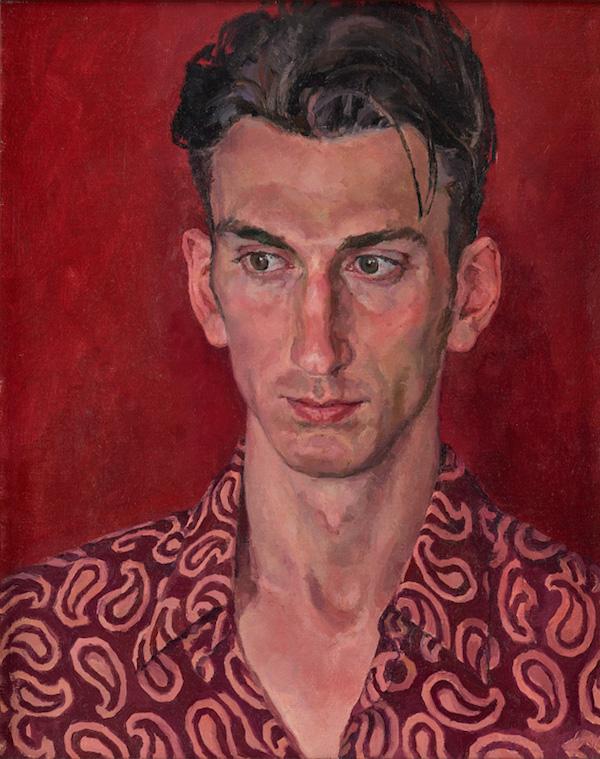Sergey Svetlakov for Portrait of Denis: Actor, Juggler and Fashion Model (508 x 407mm, Oil on canvas) © Sergey Svetlakov