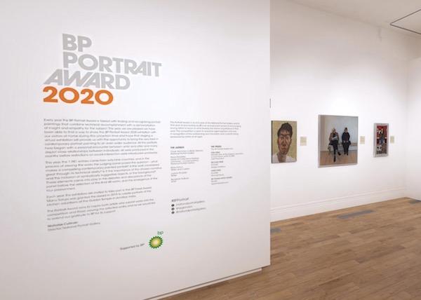 BP Portrait Award Moves Online 2020