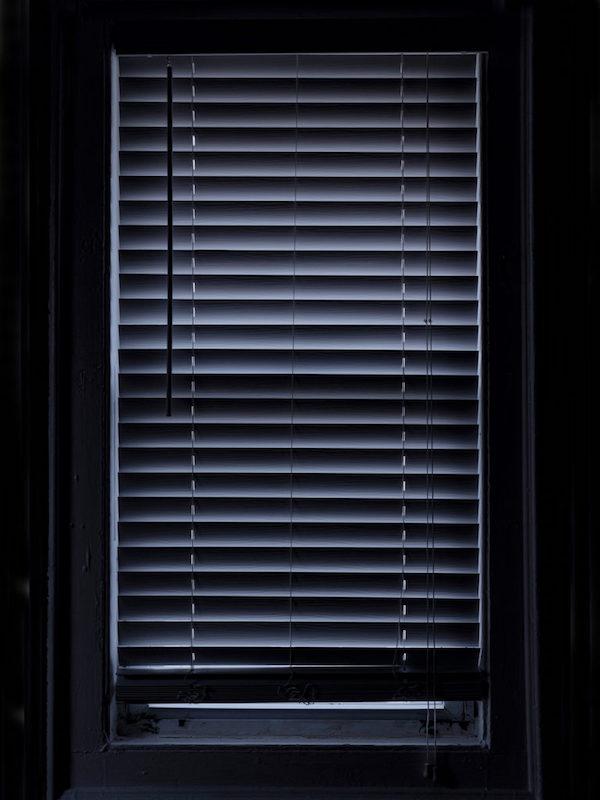 "Week 3: Studio, ""Every Window in My House, Window 10 (Studio Window 2, Overcast),"" Hannah Smith Allen, April 26, 2020"