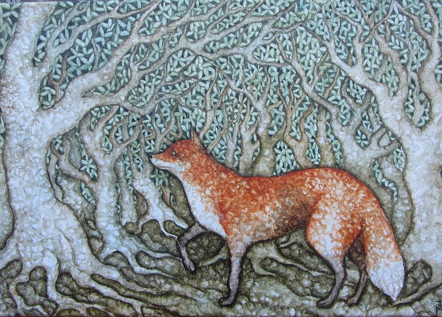 Joe Machine Prowling Fox