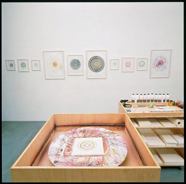Damien Hirst Spin Art Contraption
