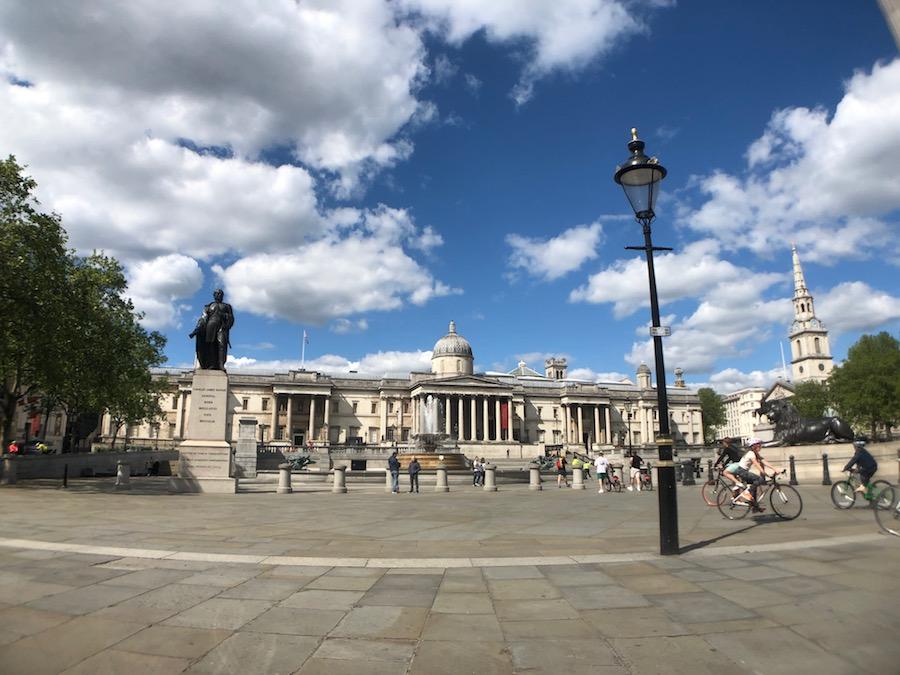National Gallery London Gallery Lockdown