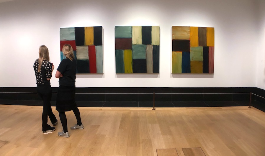 Sean Scully National Gallery London