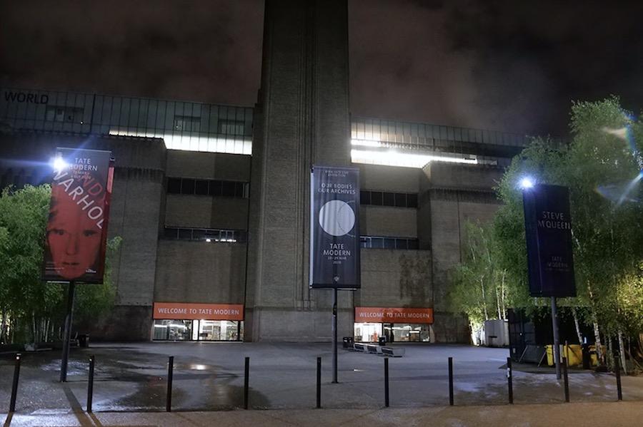 London Gallery Lockdown Tate Modern