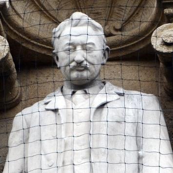 Cecil Rhodes,Statue,Oriel College,Oxford