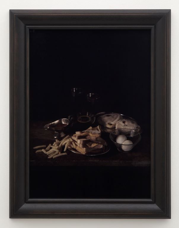 Mat Collishaw: Last Meal on Death Row, Texas, Gary Miller (2011). © Courtesy of the Artist