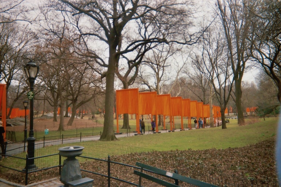 Christo and Jeann-Claude The Gates