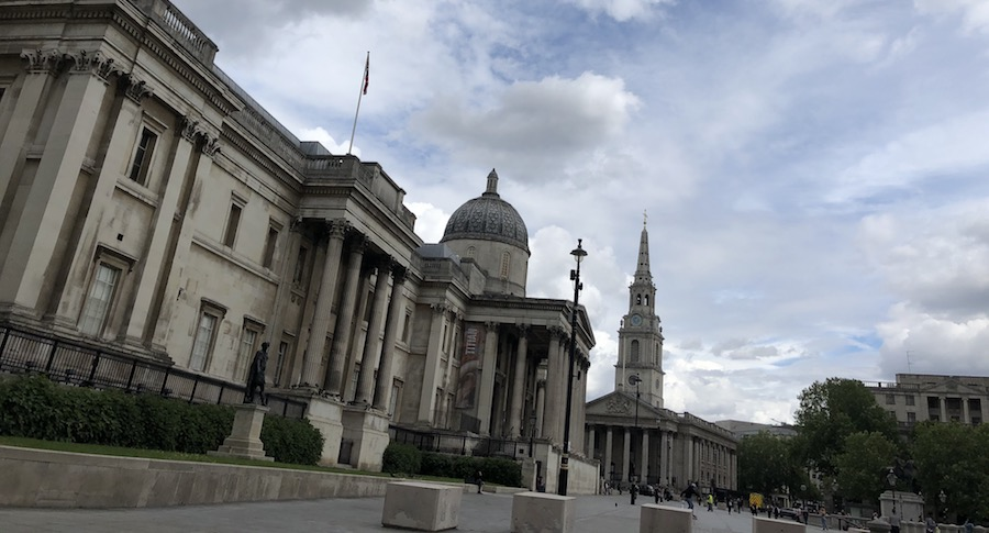 The National Gallery will reopen from the 8th July