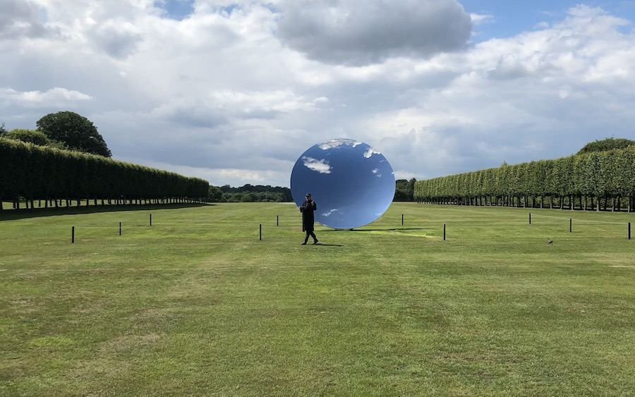 Anish Kapoor Houghton Hall 2020