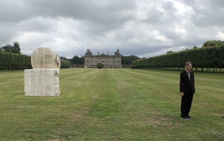 Lord Cholmondeley Anish Kapoor Houghton Hall 2020