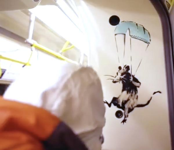 Banksy COVID Rats