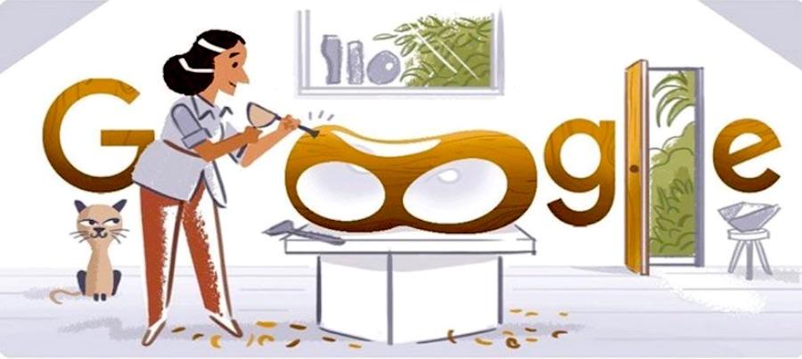 Barbara Hepworth Honoured With Google Doodle