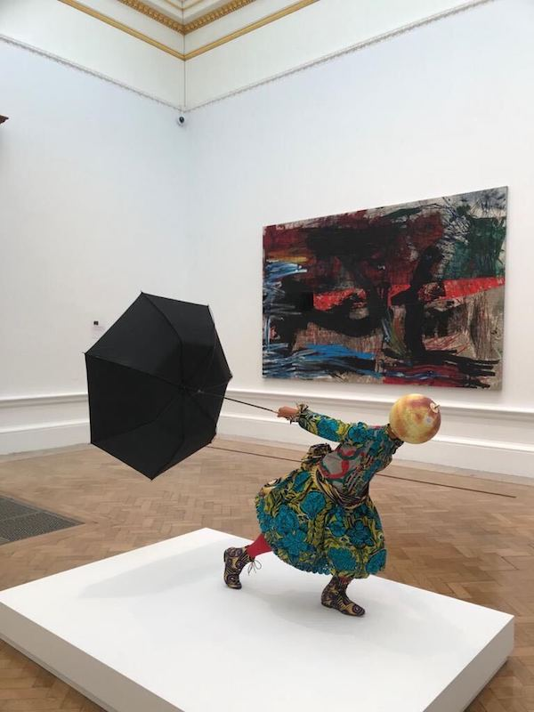 Yinka Shonibare RA Summer/Winter Exhibition Photo: Jo Shurvell