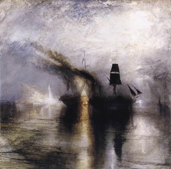 JMW Turner Peace Burial at Sea 1842_