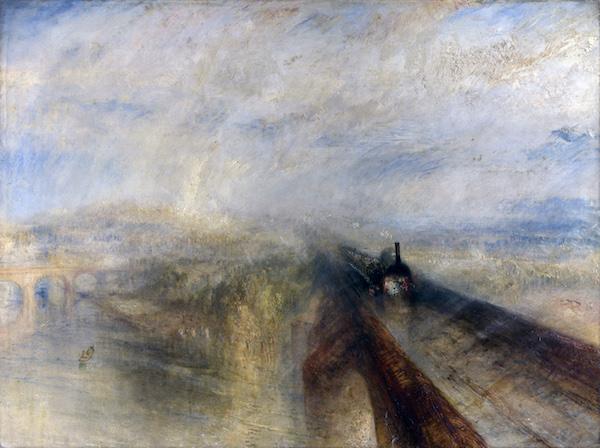 JMW Turner Rain Steam and SpeedThe Great Western Railroad