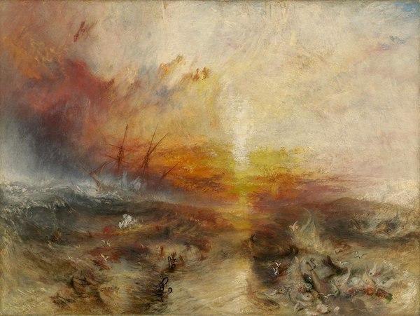 JMW Turner The Slave Ship