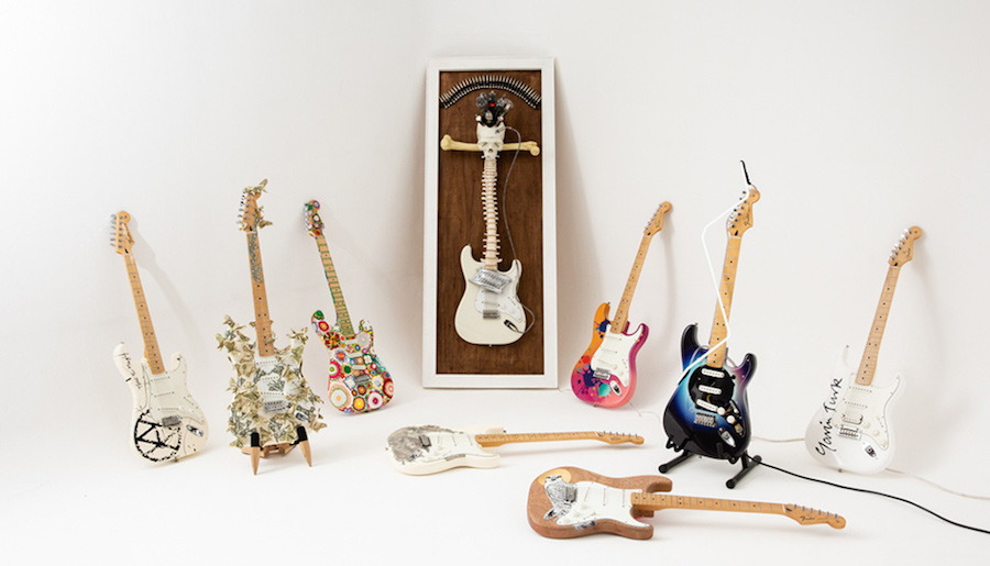Big Issue Artist Guitar Sale Features Joana Vasconcelos and Gavin Turk