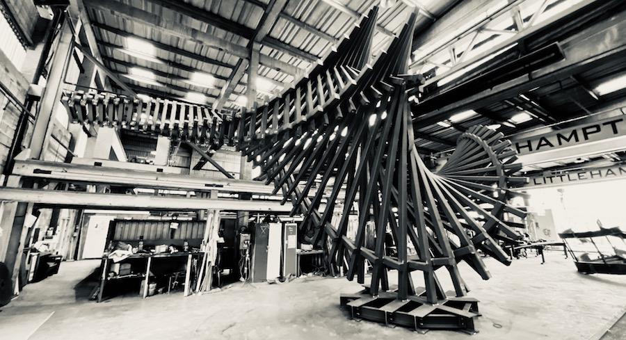 London Artist Gerry Judah Unveils DRIFT 2020 In Dallas Texas