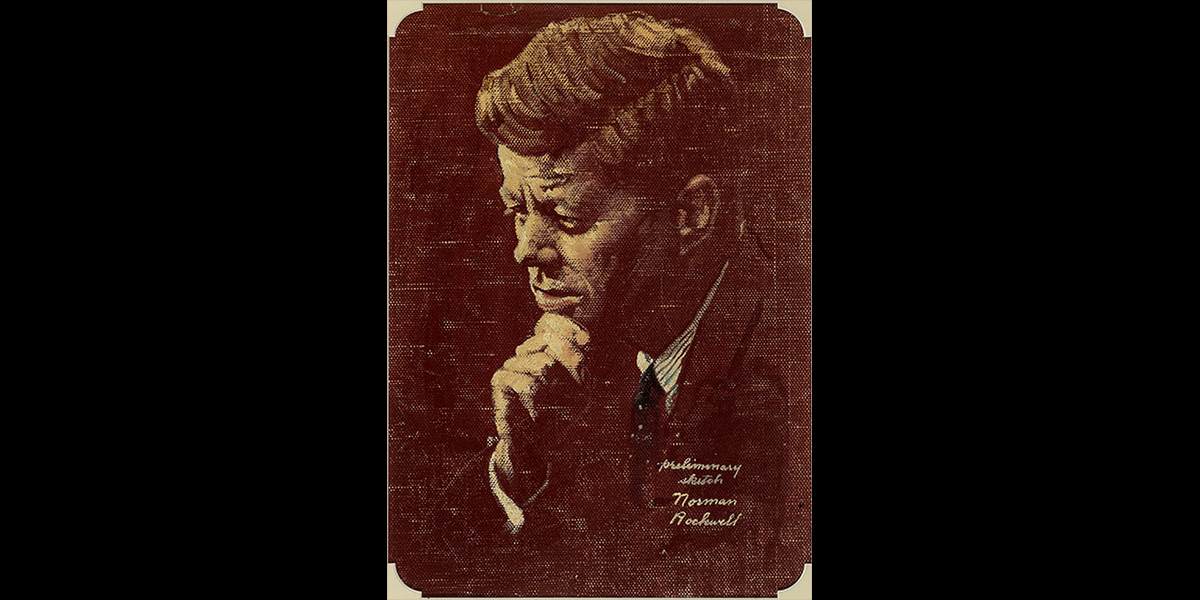 Norman Rockwell portrait of JFK Goes Under The Hammer