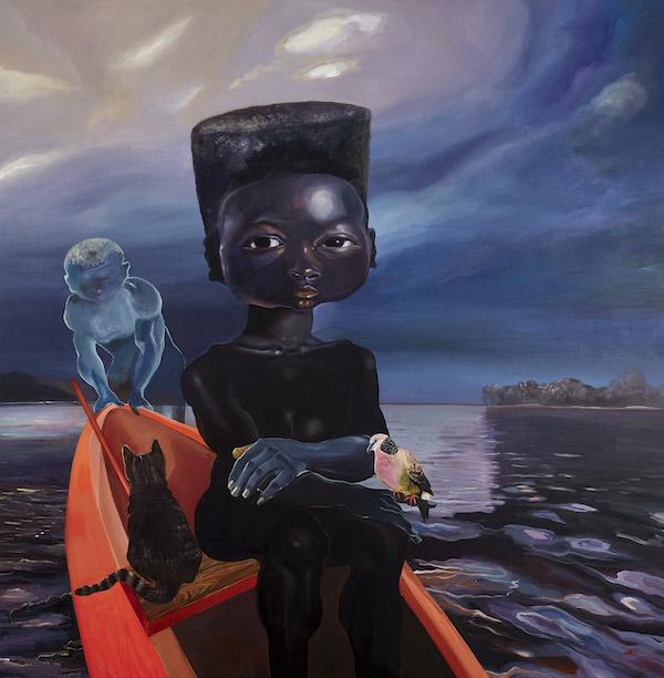 Sail Me Down Deep River, 2020 by Ndidi Emefiele
