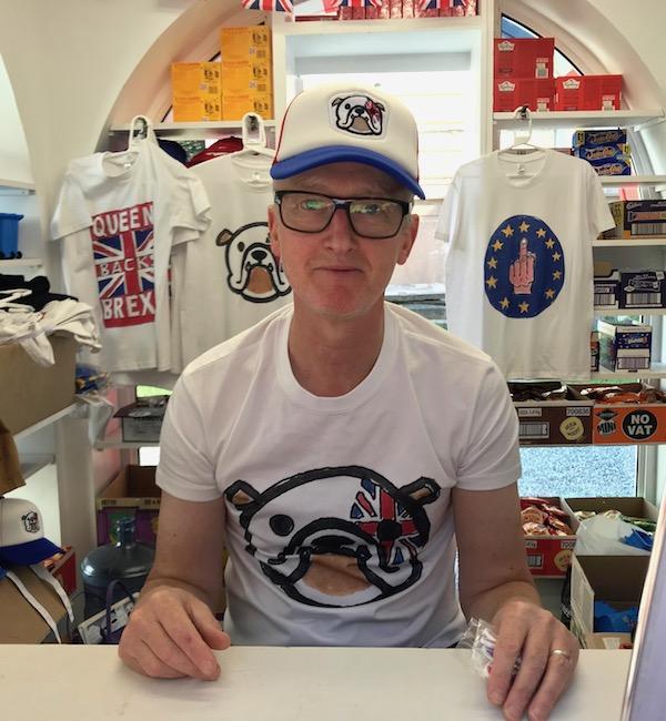 YBA Artist Michael Landy, CBE,
