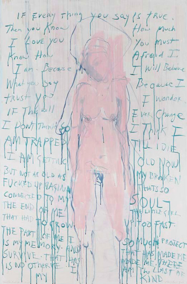 Tracey Emin, I am The Last of my Kind, 2019