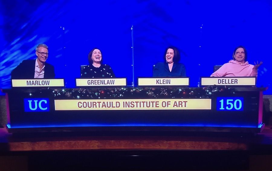 University Challenge Xmas Edition Won By Courtauld Institute