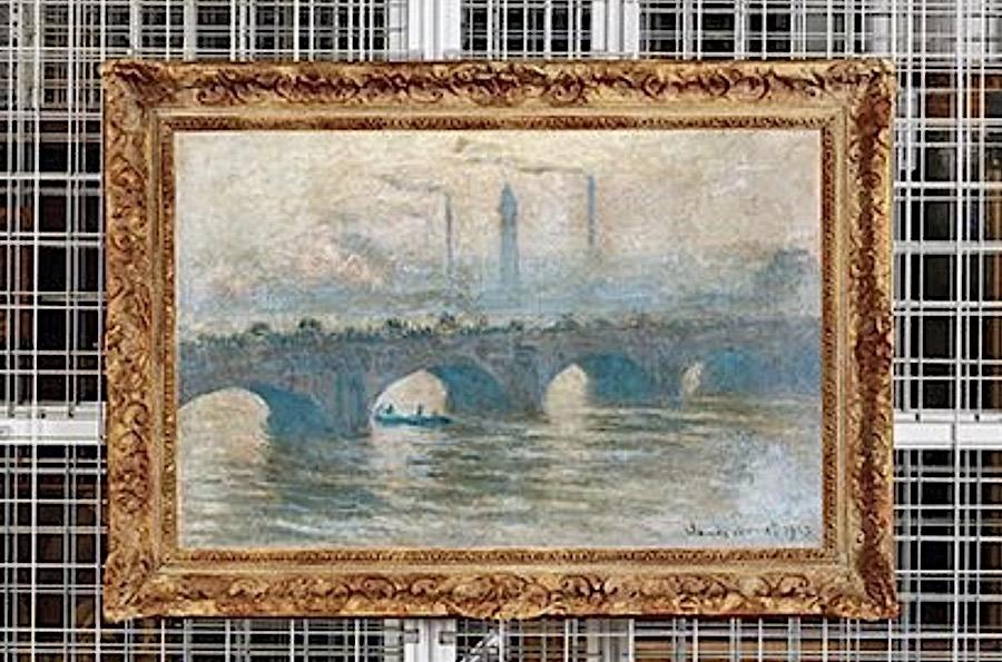 Cornelius Gurlitt Collection Monet Waterloo Bridge