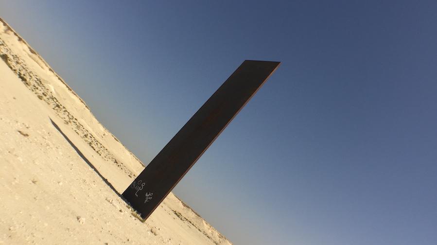 Richard Serra East West Photo: PC Robinson © Artlyst-2021