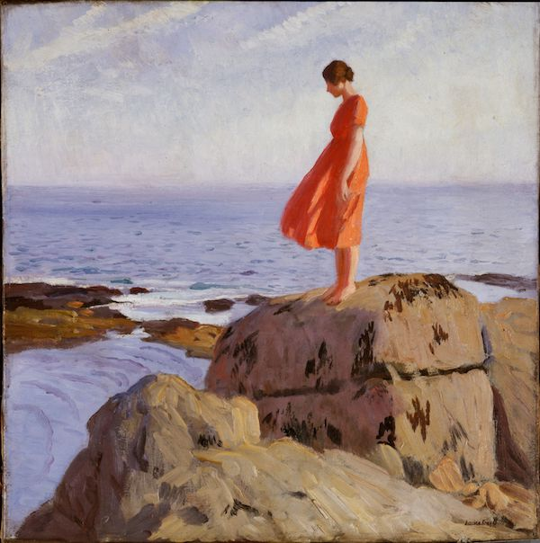 Women Artists A Dark Pool, 1918, Laura Knight, Tyne & Wear Archives & Museums © Reproduced with permission of The Estate of Dame Laura Knight DBE RA 2020. All Rights Reserved / Bridgeman Images