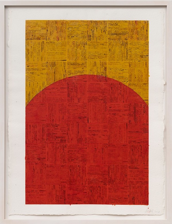 McArthur Binion, healing:work, 2020