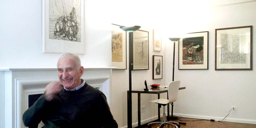 Howard Karshan in his New York home, 8 April 2014. Photo Daniel Blau, Munich