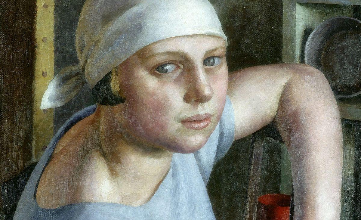 Girl in Blue, 1925, Dod Procter, Laing Art Gallery, Newcastle-upon-Tyne, UK © Courtesy of the Proctor Estate Bridgeman Images Women Artists