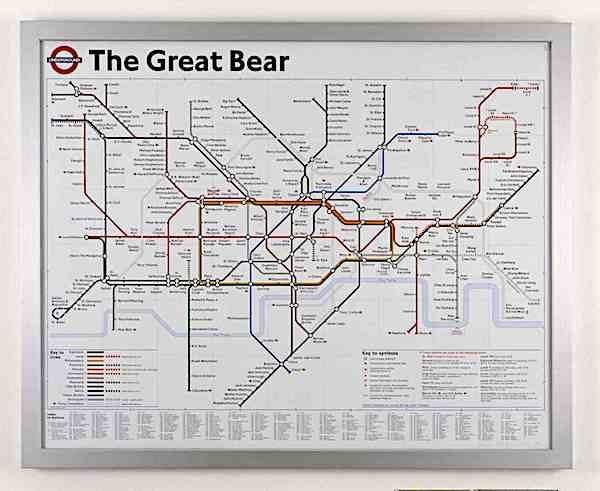 Simon Patterson The Great Bear